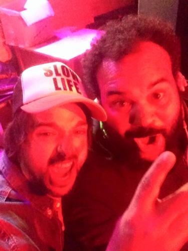 Diego aguas y Carlos Jean
