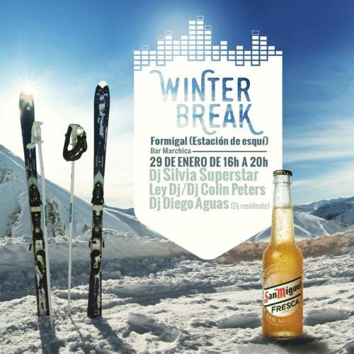 Diego Aguas Winter Break