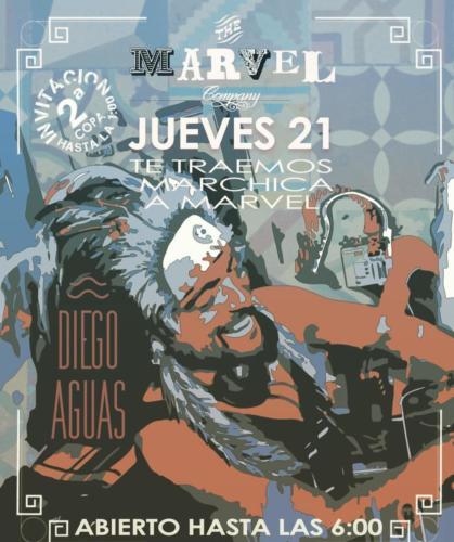 Diego Aguas y Marvel