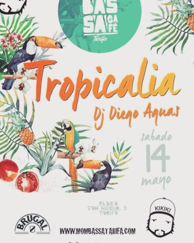 Diego Aguas con Tropicalia