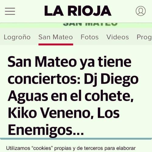 Diego Aguas en San Mateo