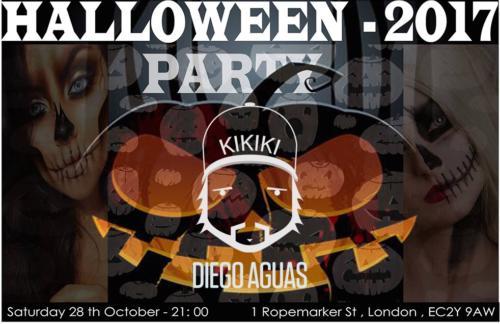 Diego Aguas Halloween